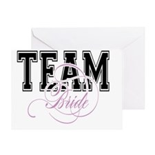 Team Bride Greeting Card