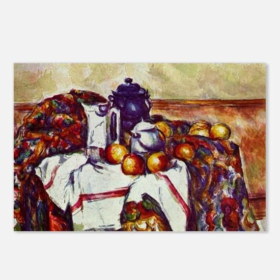 Still Life - Paul Cezanne - c1895 Postcards (Packa