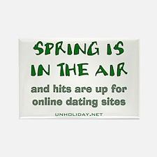 Spring Losers Online Rectangle Magnet
