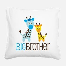 GiraffeBigBrotherV2 Square Canvas Pillow