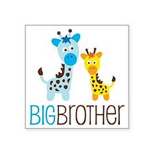 "GiraffeBigBrotherV2 Square Sticker 3"" x 3"""