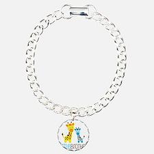 GiraffeLittleBrotherV2 Charm Bracelet, One Charm