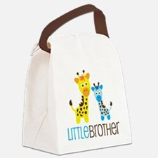 GiraffeLittleBrotherV2 Canvas Lunch Bag