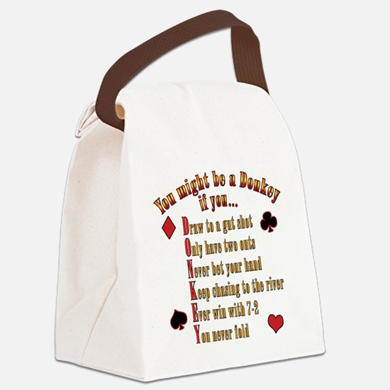 DONKEY_final PNG Canvas Lunch Bag