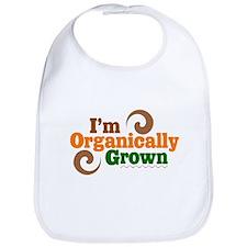 I'm Organically Grown Bib