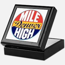 Denver Vintage Label W Keepsake Box