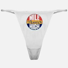 Denver Vintage Label W Classic Thong