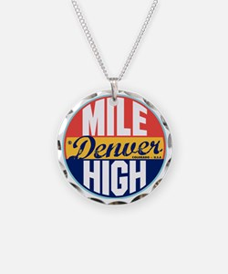 Denver Vintage Label W Necklace
