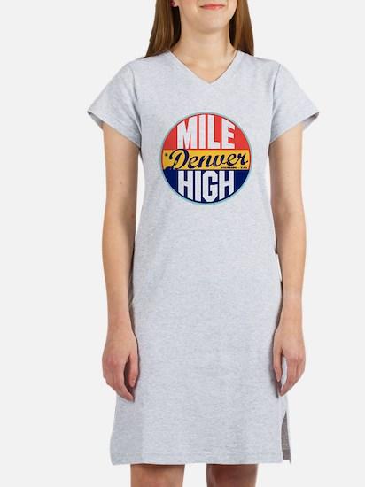 Denver Vintage Label W Women's Nightshirt