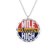 Denver Vintage Label B Necklace