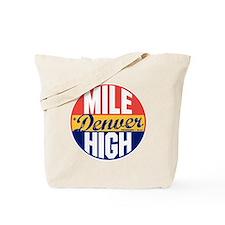Denver Vintage Label B Tote Bag