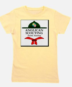 Anglican Scouting North America Logo Girl's Tee