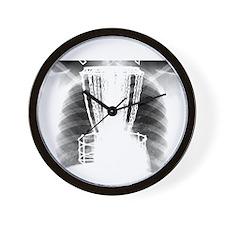 Ribshot Disc Catcher Wall Clock