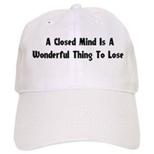 Closed Minds Baseball Cap