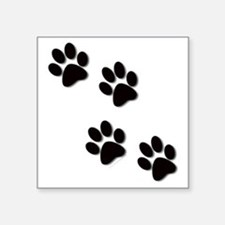 "paws.gif Square Sticker 3"" x 3"""