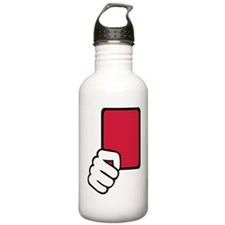 red_card_hand Water Bottle