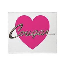 cougar.gif Throw Blanket