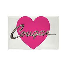 cougar.gif Rectangle Magnet