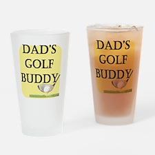 dads golf buddy.gif Drinking Glass