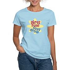 girls rule boys drool.gif T-Shirt