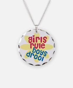 girls rule boys drool.gif Necklace