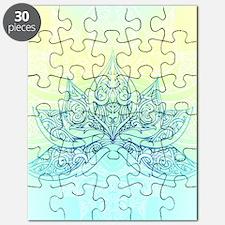 Pale Blue Lotus Puzzle