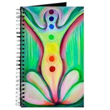 Lotus Chakras Watercolor Journal