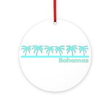Cute Nassau bahamas Ornament (Round)