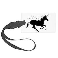 Magical Unicorn Silhouette Luggage Tag