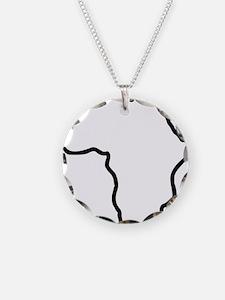 africa_outline Necklace
