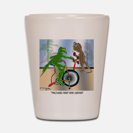 7945_lizard_cartoon Shot Glass