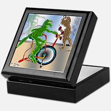 7945_lizard_cartoon Keepsake Box