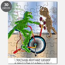 7945_lizard_cartoon Puzzle