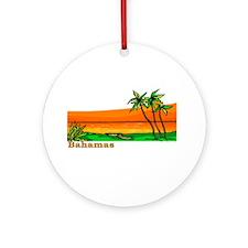 Funny Nassau bahamas Ornament (Round)