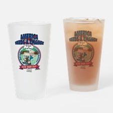 BillYoungT Drinking Glass