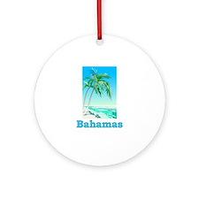 Unique Nassau bahamas Ornament (Round)