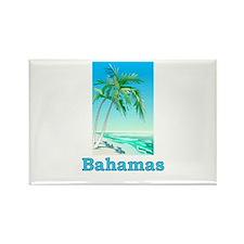 Cute The bahamas Rectangle Magnet