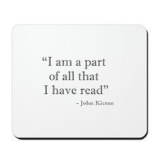 I am a part... Mousepad
