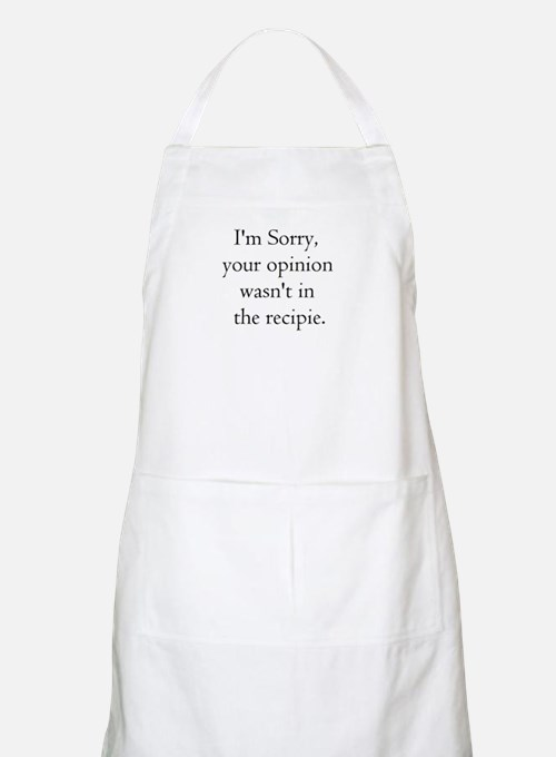 Cooking Humor BBQ Apron