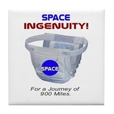 Space Diapers Tile Coaster