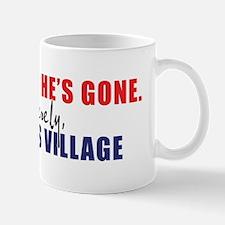 We're Glad He's Gone. -- Sinc Mug
