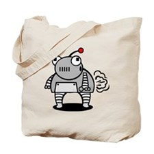 I Pooped Today! Funny Robot Tote Bag