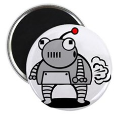 I Pooped Today! Funny Robot Magnet