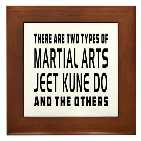 Jeet Kune Do Designs Framed Tile