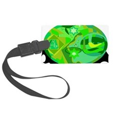 Margarets Greens 3 Luggage Tag