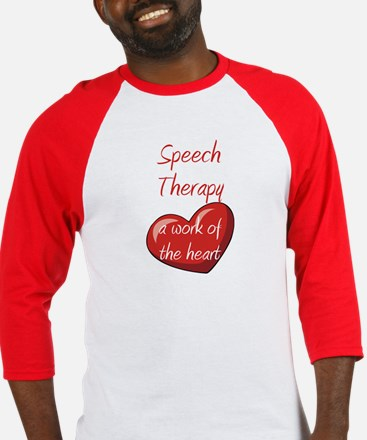Speech Therapy A Work Of The Baseball Jersey