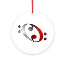 Clef Ornament (Round)
