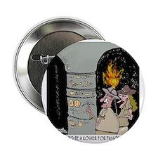 """3959_kosher_cartoon 2.25"""" Button"""