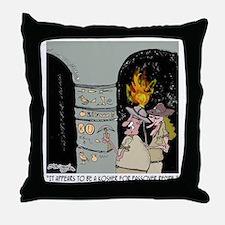 3959_kosher_cartoon Throw Pillow
