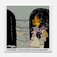 3959_kosher_cartoon Tile Coaster